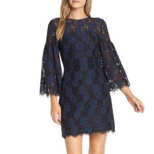 NWT Trina Turk lace shift dress